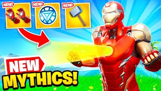 *NEW* MYTHIC WEAPONS are OP in Fortnite! (HUGE UPDATE)