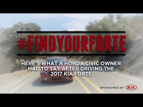 2017 Kia Forte Test Drive: Here's What One Honda Civic Owner Said - Sponsored by Kia