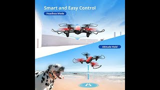 Holy Stone HS370 FPV Drone with Camera for Kids and Adults 720P HD WiFi Transmission, RC Quadcopter