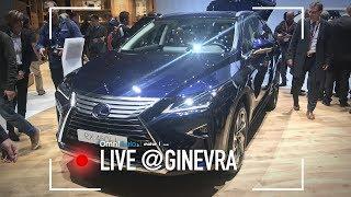 Lexus RX 450h L   Salone di Ginevra 2018