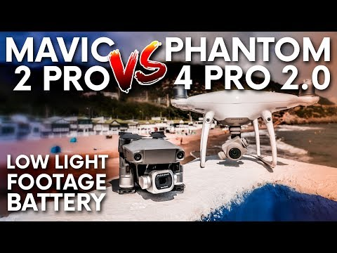 DJI MAVIC 2 PRO VS PHANTOM 4 PRO 2 0 ULTIMATE COMPARISON