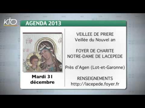 Agenda du 23 décembre 2013