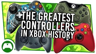 The Greatest Controllers In Xbox History! - How Many Have You Used?