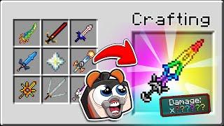 Random SWORD Transforms EVERY Hit! (Scramble Craft)