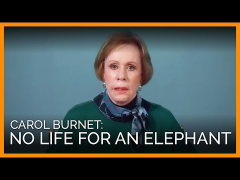 Comedic Icon Carol Burnett Chokes Back Tears Over Nosey the Elephant