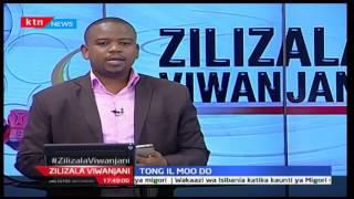 Zilizala Viwanjani: Clarence Mwakio mwenyekiti wa mchezo wa Tong il Moo do nchini, 30/11/16 Part 2