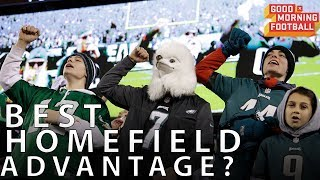 Which Team Will Have the Best Homefield Advantage in 2018? | NFL Network