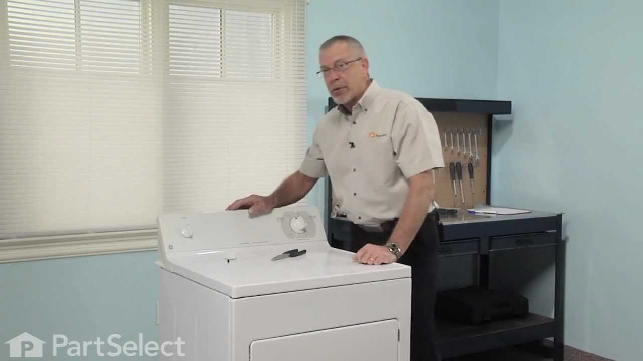 Replacing your General Electric Washer Selector Knob with Clip