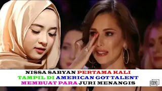 NISSA SABYAN DI AMERICAN GOT TALENT (DEEN ASSALAM)#CRM