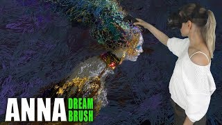 "(Video) ""Bird Gamayun – Virtual reality painting (Tilt Brush)"""