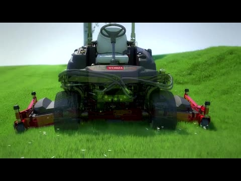 Toro® Groundsmaster® 360 Quad-Steer™ – 100 Inch Deck Option