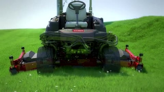 Toro® Groundsmaster 360 Quad-Steer™ – 100 Inch Deck Option