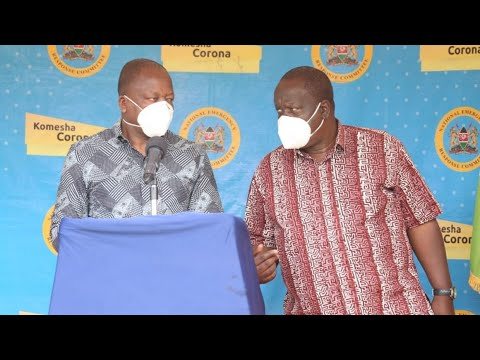 LIVE: Kenya reports 727 more virus cases - Govt Briefing on Pandemic