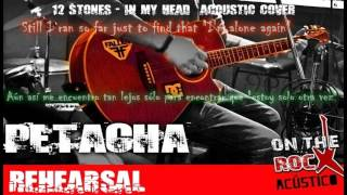 """PETACHA - IN MY HEAD """"12 STONES"""" rehearsal... PREVIEW LIVE!"""