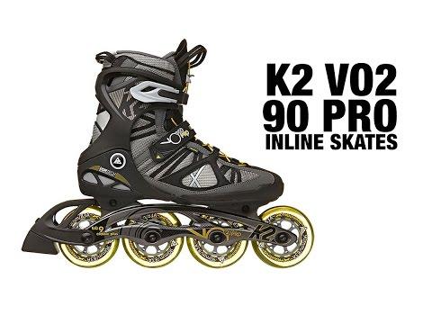 K2 2015 VO2 90 Pro Inline Skates Review