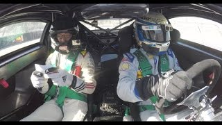 Ryan Tuerck answers trivia while riding with Scott Pruett | Donut Media
