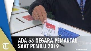 Pemantau Pemilu 2019 dari 33 Negara dan 11 Lembaga Bertugas 3 Hari