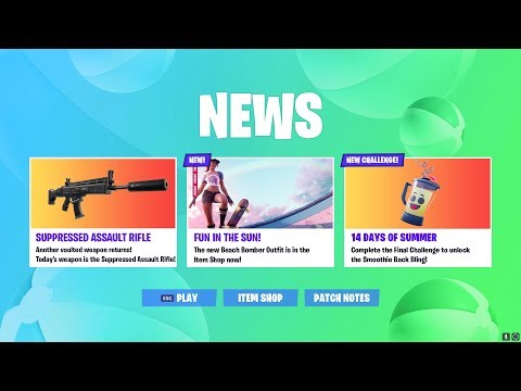 FORTNITE 14 DAYS OF SUMMER DAY 14 CHALLENGE! NEW WEAPON UNVAULTED SOON!