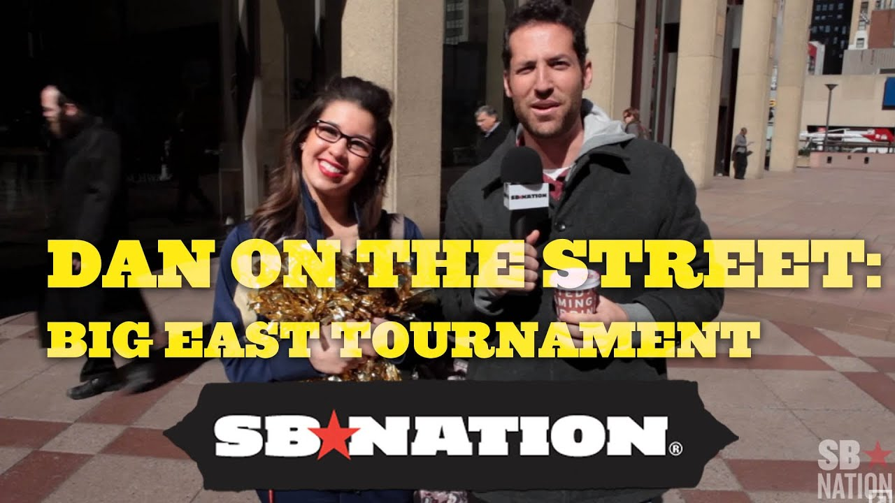Dan on the Street: Big East Tournament thumbnail