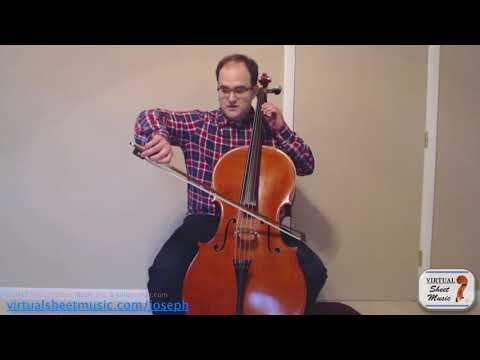 Up and Down Bow Staccato on the Cello