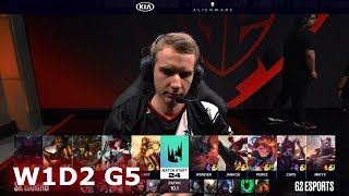 SK Gaming vs G2 eSports | Week 1 Day 2 S10 LEC Spring 2020 | G2 vs SK W1D2