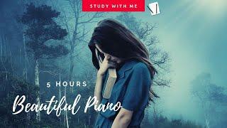 [無廣告版] 只想靜靜一人聽音樂~鋼琴.大提琴交織唯美音樂 ❤ 讀書. 工作音樂 - 5 HOURS RELAXING STUDYING MUSIC