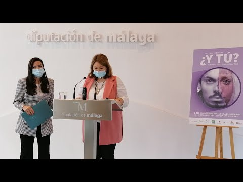 Presentación de las actividades de la Delegación de Igualdad de la Diputación con motivo del 25 de noviembre