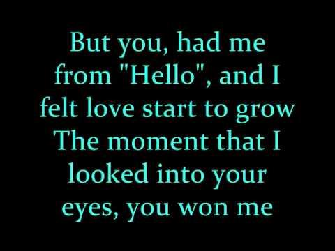 Kenny Chesney You Had Me From Hello Lyrics