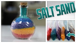DIY Colorful Sand Art... Made With Salt! - Do It, Gurl - Video Youtube