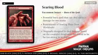 Pro Tour Magic Origins Tournament Center: Inside Standard with Randy Buehler