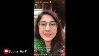 Hina Altaf Live From The  Set Of Aatish | Hum Tv | Hina Altaf Vlogs | Aatish Darama Shooting |