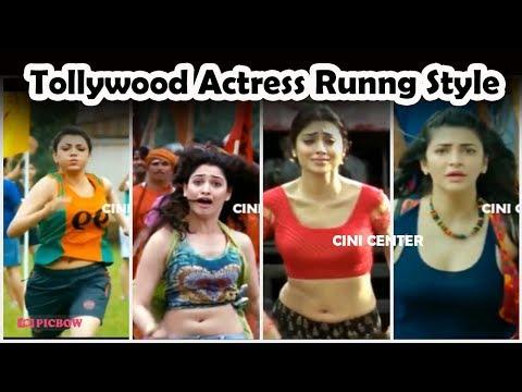 Tollywood Actress Running Race Viral Video 2018 | Cini Center