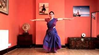 Learn Bharatanatyam Basic Steps  1st Thath thei thaam  Adavu