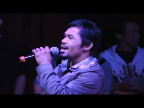 "Manny Pacquiao Sings ""La Bamba"" Mp3"