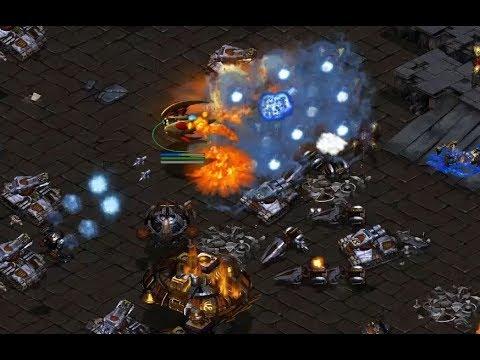 Best (P) v Sharp (T) on Circuit Breakers - StarCraft  - Brood War REMASTERED
