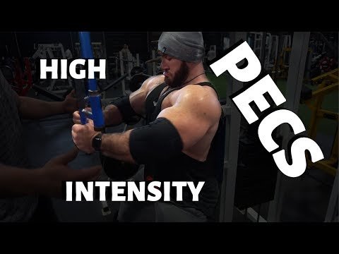 Antoine trains chest with buddies then explains HIT training!