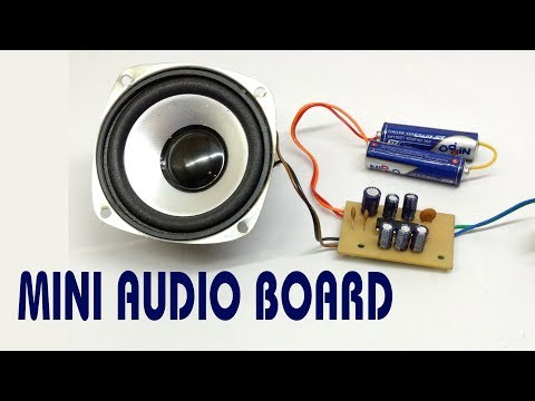 How to Make Mini Audio Amplifier Board with TEA2025B IC