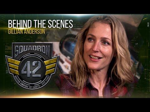 Squadron 42: Behind the Scenes - Gillian Anderson