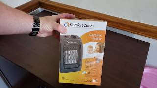 Comfort Zone Ceramic Heater for Baby Room