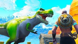 NEW Dinosaur Location in Fortnite...| Chaos