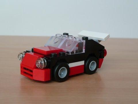 Vidéo LEGO Creator 30187 : Fast Car