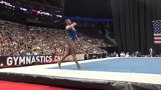 Trinity Thomas– Floor Exercise – 2019 U.S. Gymnastics Championships – Senior Women Day 1