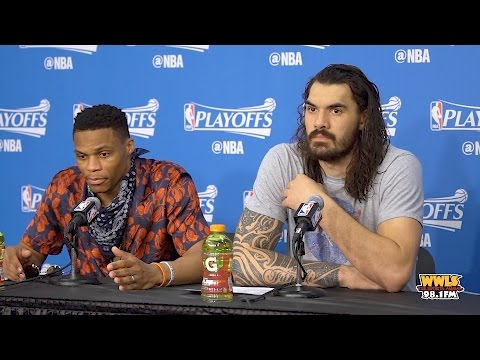 Things Get Heated Between Russell Westbrook & Reporter