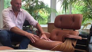 Mark Introduces His Two Faithful Eames Lounge Chairs