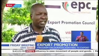 Kenyan government to initiate an export promotion programme