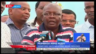 Mombasa Senator demands for audit of firearms in private hands.