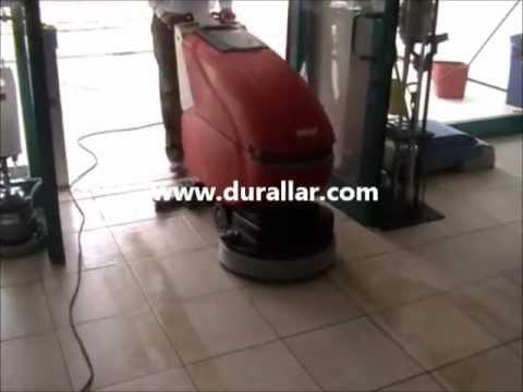 Durclean Powerwash CB461 Akülü Yer Yıkama Makinesi