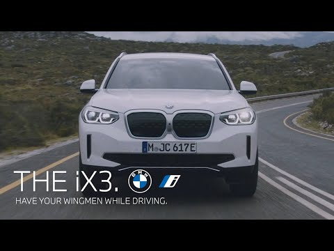 The first-ever BMW iX3.