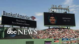 Former Major League Baseball player Bill Buckner dies