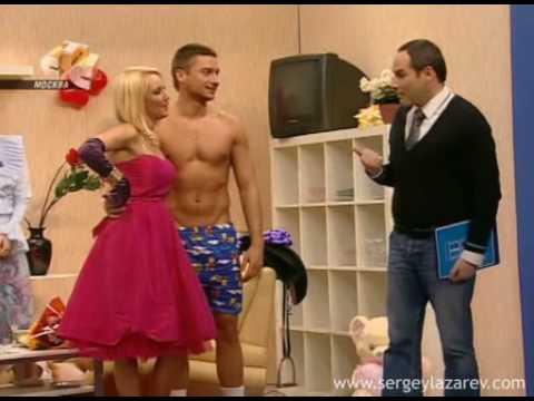 ", title : 'Sergey Lazarev и Лера в программе ""Слава Богу, ты пришёл!""'"